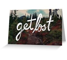 Get Lost in the Pacific Northwest Greeting Card