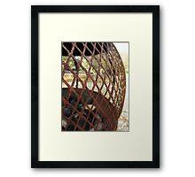 Rustic Charm Framed Print