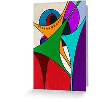 Joyous #4 Greeting Card