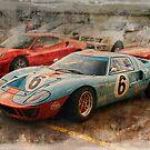 Gulf GT40 3 by Stuart Row