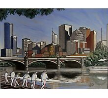 melbourne rowing club Photographic Print