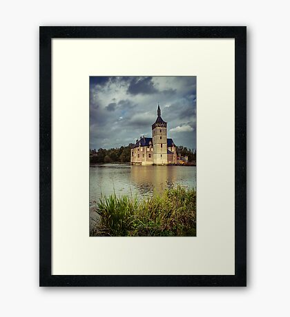 Castle in Flanders, Belgium Framed Print