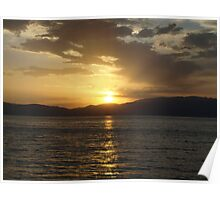 Sunset in Macedonia Poster