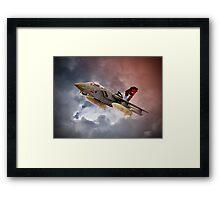 Storming 2 !! Tornado GR4 617 Squadron Framed Print