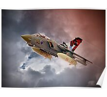 Storming 2 !! Tornado GR4 617 Squadron Poster