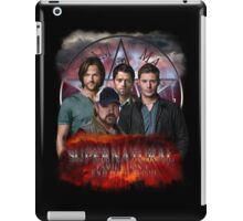 Supernatural Family dont end with blood 3  iPad Case/Skin