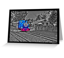 Thomas the tank engine! Greeting Card