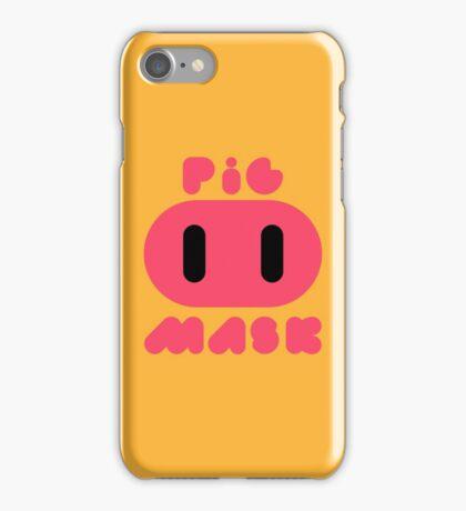 Pig Mask Logo iPhone Case/Skin