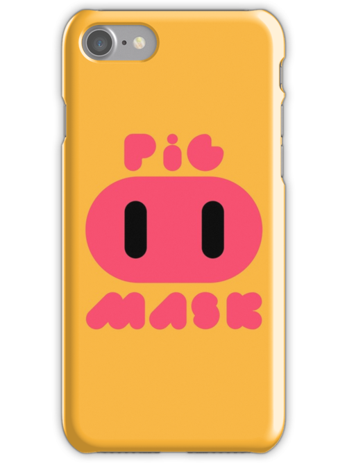 Pig Mask Logo by Studio Momo╰༼ ಠ益ಠ ༽