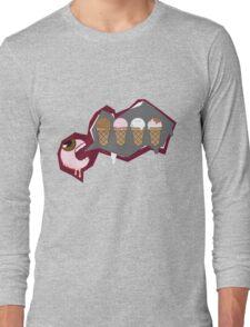 Eye Scream 4 Ice cream Long Sleeve T-Shirt