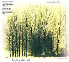 Wise Winter Greetings by Angele Ann  Andrews