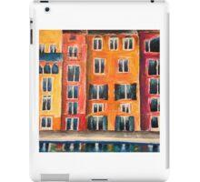 Italian Street Acrylic Painting iPad Case/Skin