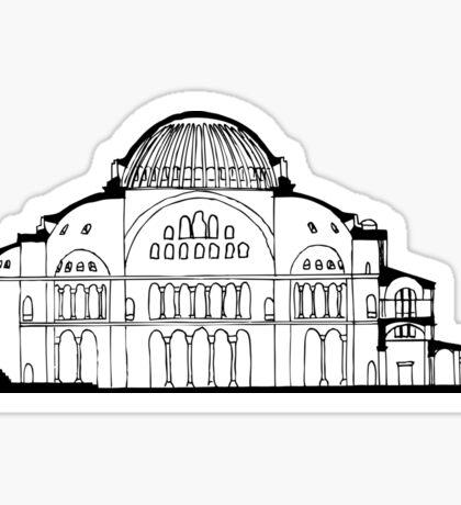 Hagia Sophia Istanbul Sticker