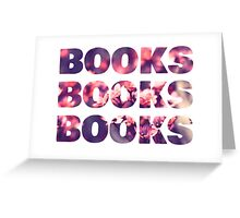 Books books books Greeting Card