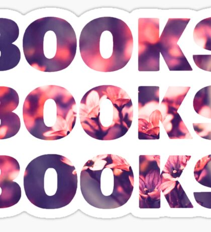 Books books books Sticker