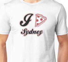 I Love Pizza Sydney Unisex T-Shirt