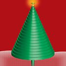 3d xmas tree by sarandis