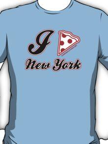 I Love Pizza New York T-Shirt