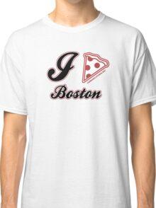 I Love Pizza Boston Classic T-Shirt