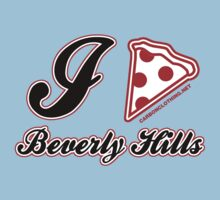 I Love Pizza Beverly Hills by CarbonClothing