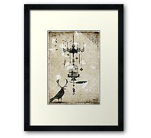 The Crow's Treasures Framed Print