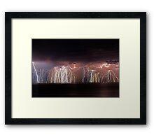Fremantle Thunderstorm  Framed Print