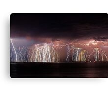 Fremantle Thunderstorm  Canvas Print