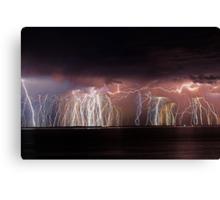 Fremantle Thunderstorm  Canvas Print