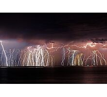 Fremantle Thunderstorm  Photographic Print