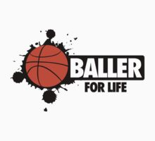 Baller for life Kids Clothes