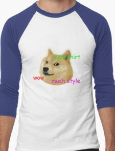 Doge classic Men's Baseball ¾ T-Shirt