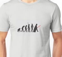 THE STAR WARS EVOLUTION Unisex T-Shirt