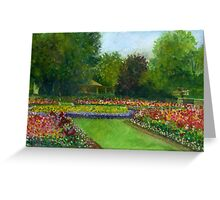 Park Afternoon Greeting Card