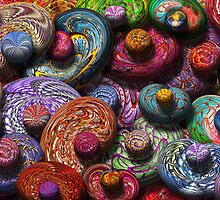Abstract - Beans by Mike  Savad