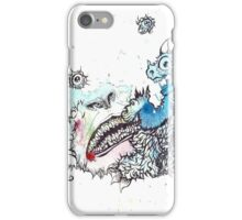 Friendly Monster Battle iPhone Case/Skin