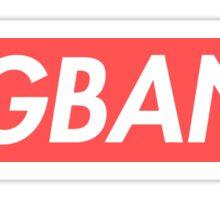 BIGBANG Supreme  Sticker