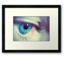 Gaze Framed Print