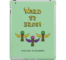 """League of Legends """"Ward Up Bros!"""" Fan Art Design iPad Case/Skin"""