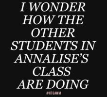 Other Annalise's students (white font) by curvelloarruda
