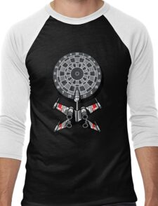 Dart Star Men's Baseball ¾ T-Shirt