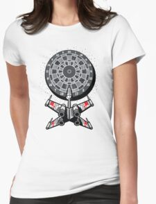 Dart Star Womens Fitted T-Shirt