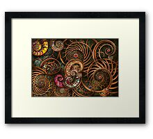 Abstract - The wonders of Sea Framed Print