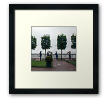 St. Petersburg In The Rain - Russia Framed Print