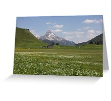 The perfect Alps Greeting Card