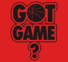 Basketball: Got Game? Kids Clothes