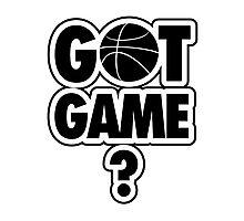 Basketball: Got Game? Photographic Print