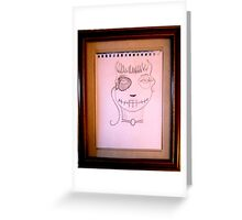 antiquely dead Greeting Card