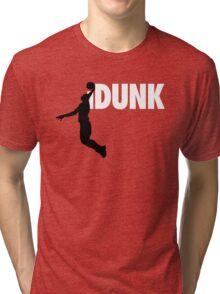 iDunk - Basketball Tri-blend T-Shirt