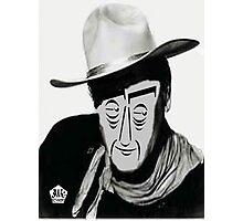 Typortraiture John Wayne Photographic Print