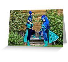 Carnival Costume Greeting Card